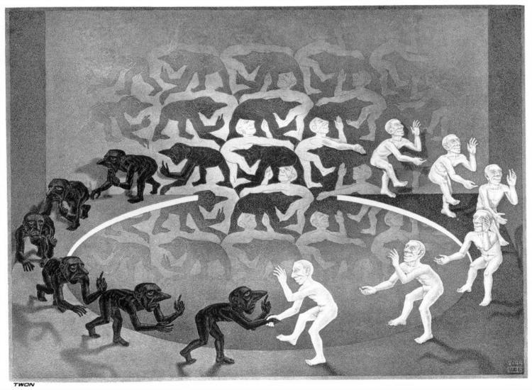 Self-knowledge-M.C.-Escher-Encounter